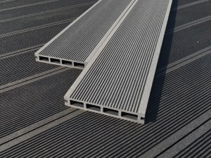 Core Decking Wood Plastic Composite Decking Boards