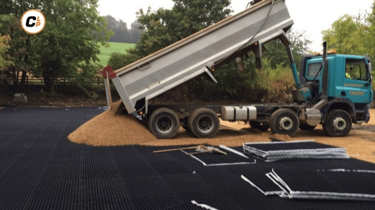 Core Landscape Products Car Park Installation Henley Buckinghamshire