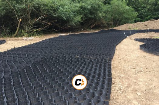 Geotrack Installation for Vehicular Access